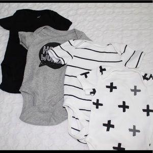 Cloud Island NB Bodysuit/Onesie LOT